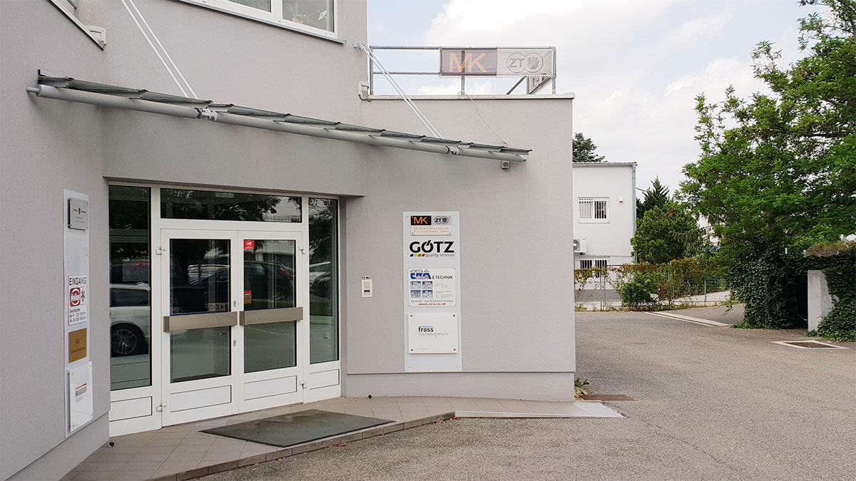 Übersiedlung Niederlassung Wien 2005